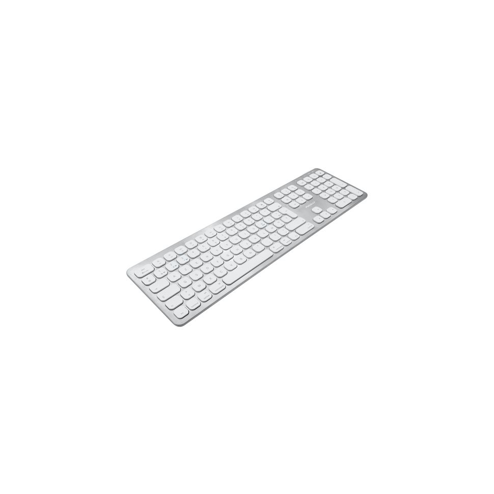 Macally - Clavier sans fil Bluetooth ultraplat pour Mac - Azerty (français)