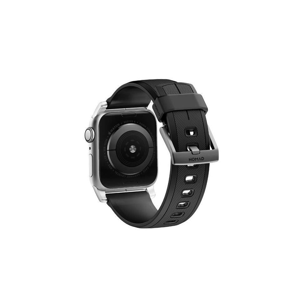NOMAD - Bracelet Rugged Apple Watch - Noir