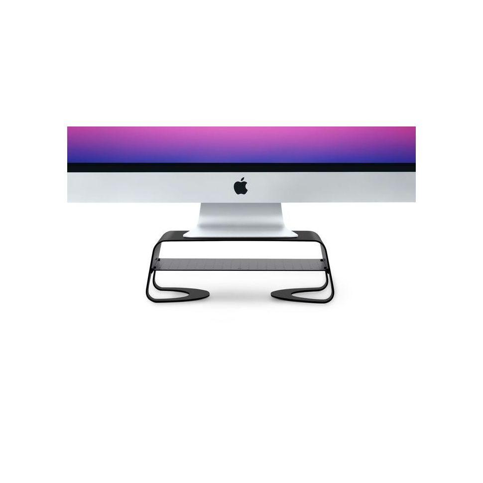 Twelve South Curve Riser pour iMac et écrans - Noir