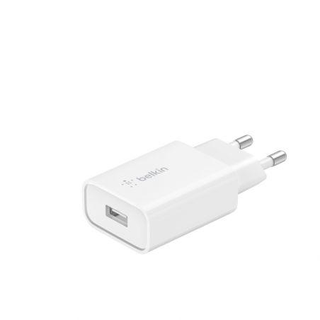 Chargeur Belkin USB-A Boost, 18W, Blanc