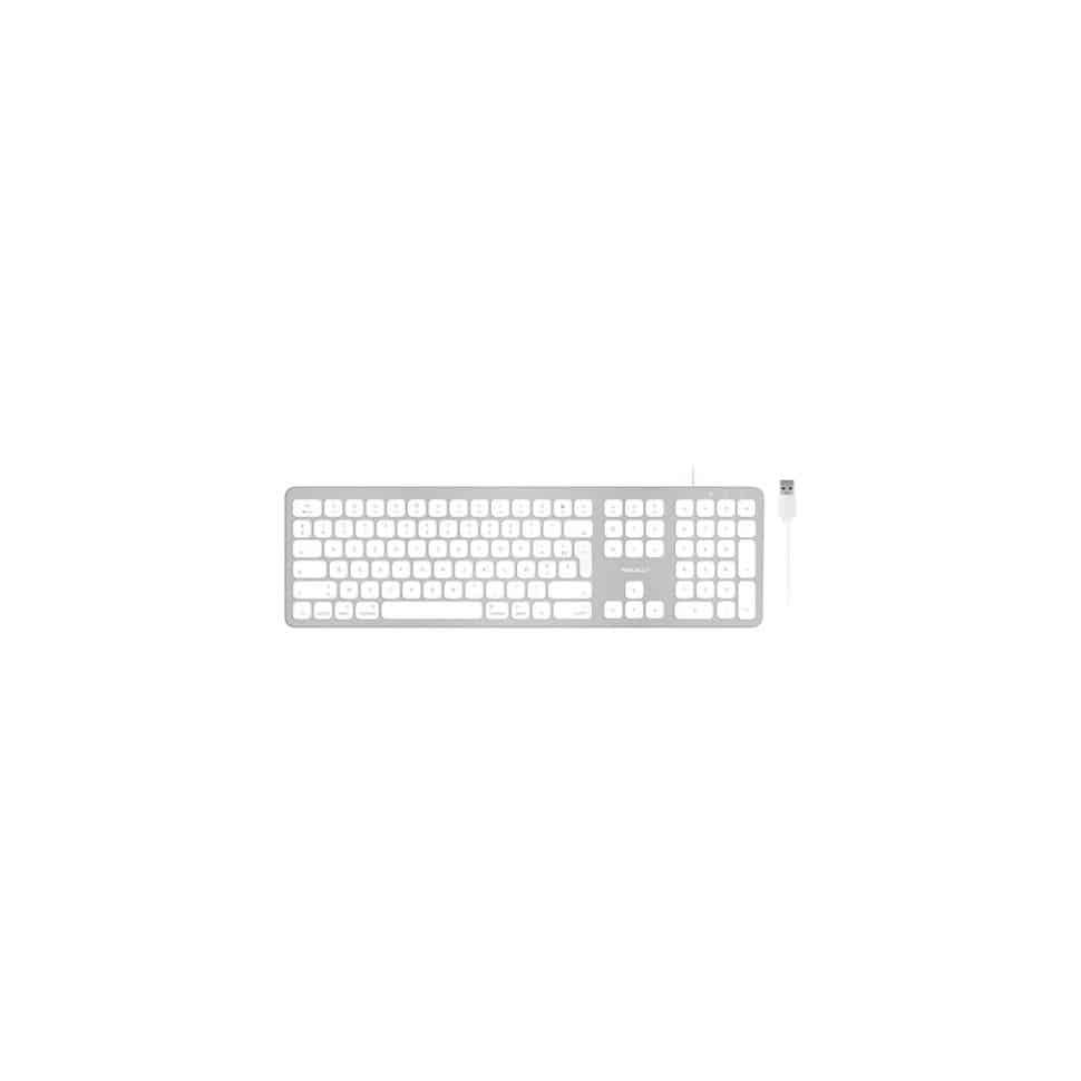 Clavier Macally Azerty Ultra Slim USB-A