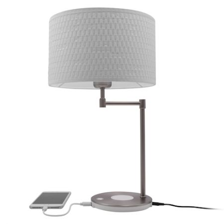 Lampe Macally avec chargeur induction 10W