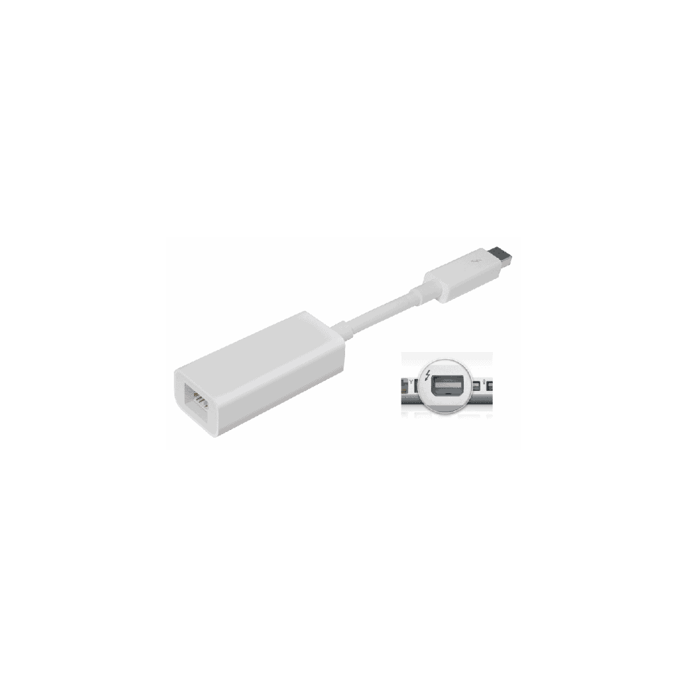 Adaptateur Thunderbolt 2 vers Gigabit Ethernet Apple