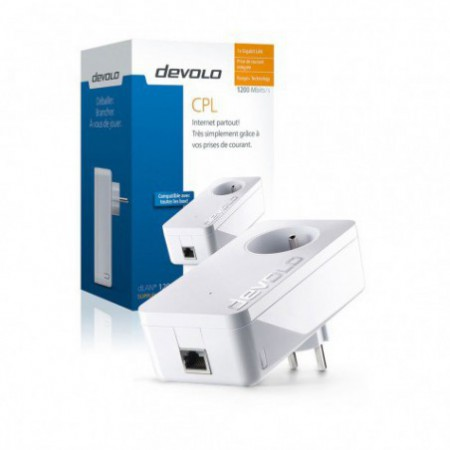 CPL Devolo dLAN 1200+ Starter Kit (x2)