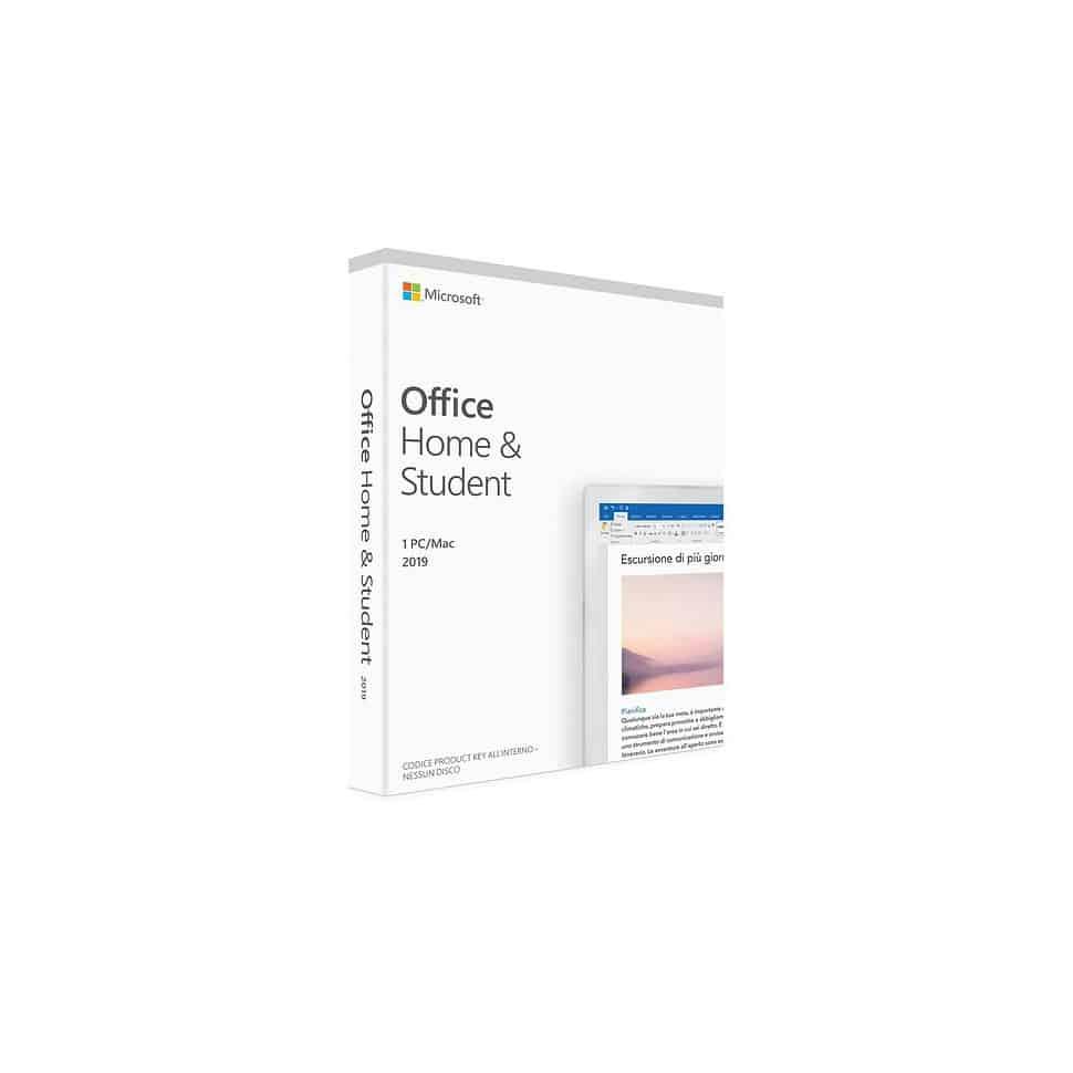 Pack Office Mac (ou PC) 2019 Famille et Etudiant