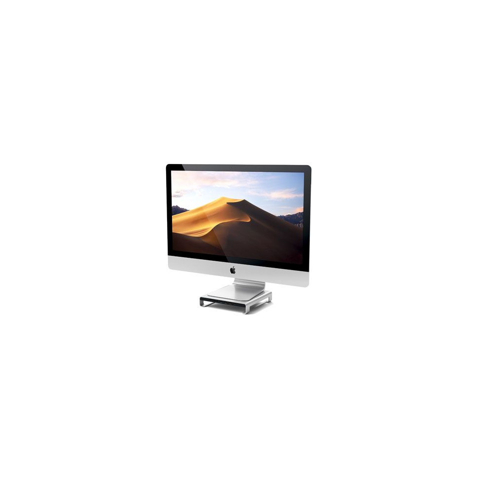 SATECHI Support iMac avec Hub Type-C - Argent