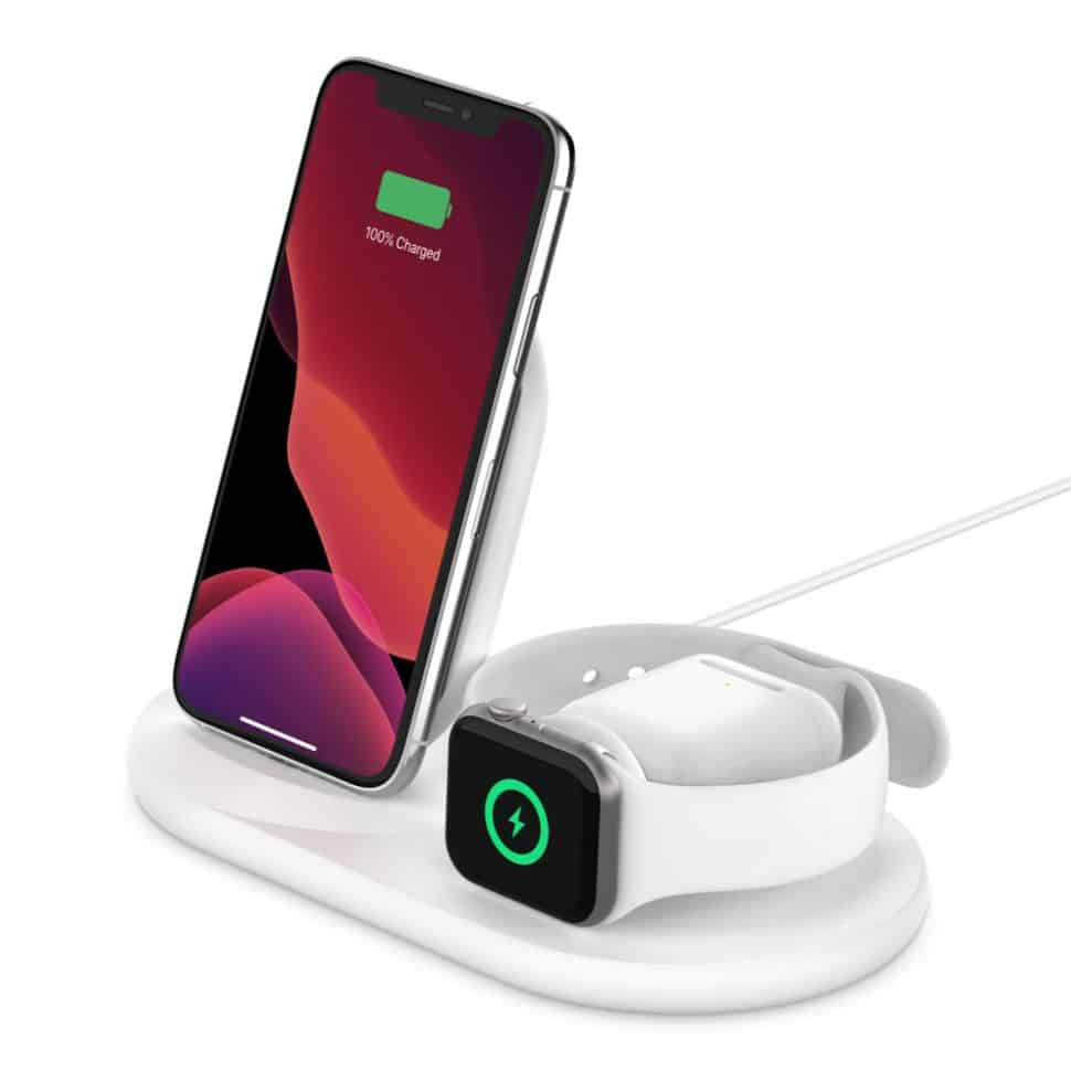 Station de recharge BOOST UP pour Apple Watch et iPhone - Belkin