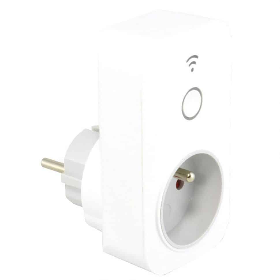 Prise connectée Wifi compatible Google et Alexa