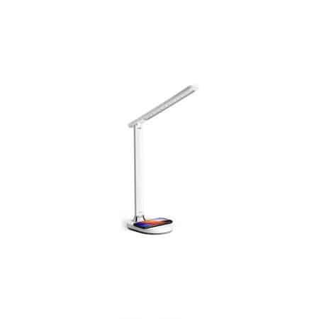 Lampe Platinet avec chargeur induction 18W QI - Blanc