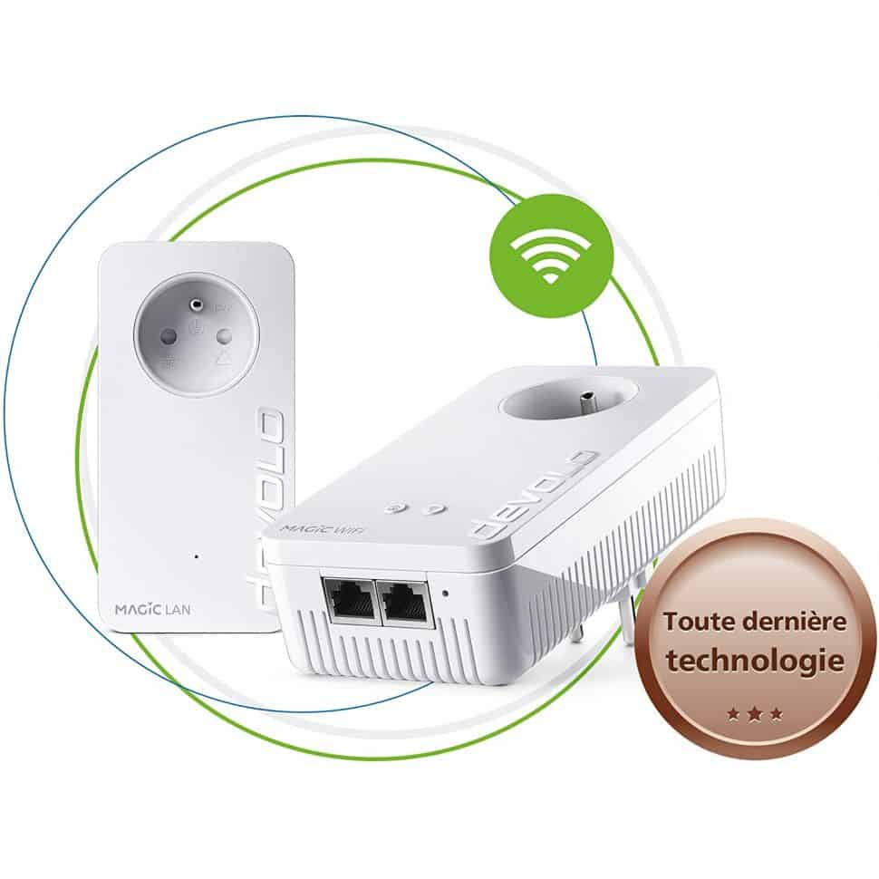 CPL Devolo Magic 2 WiFi Next - Pack de démarrage *2
