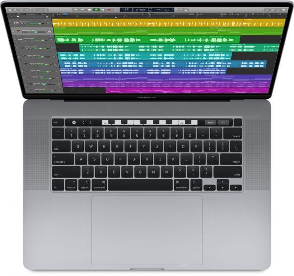 macbook pro 16 processor