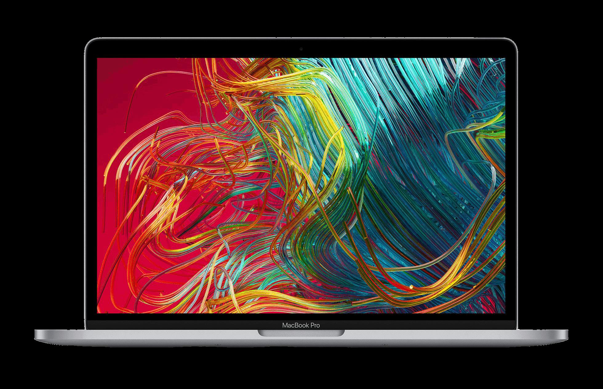 MacBook Pro 13 2020 graphiques